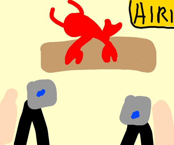 lobster talk show
