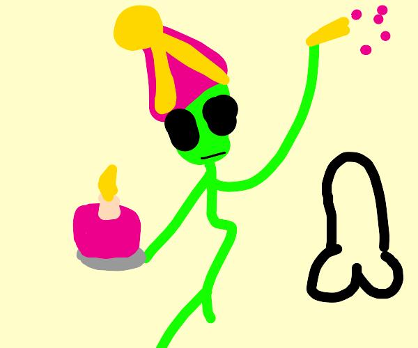 alien celebration
