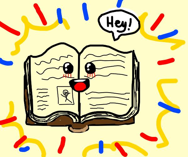 I'm an open book (literally)