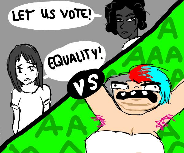 Feminism 1800's VS 2021