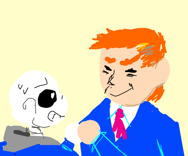 Sans Shaking Hands with the President