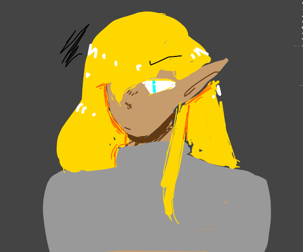 disgruntled elf