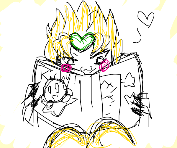 Dio's secret Kirby manga