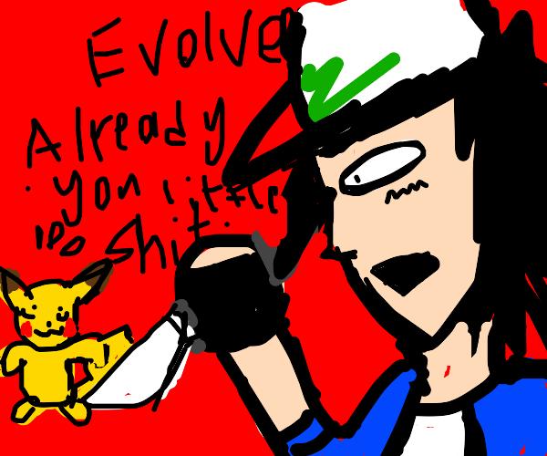 Pikachu won't evolve