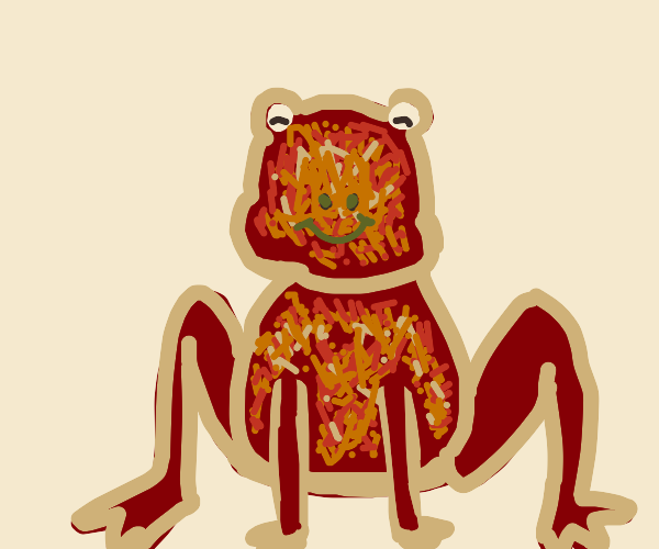 pizza frog