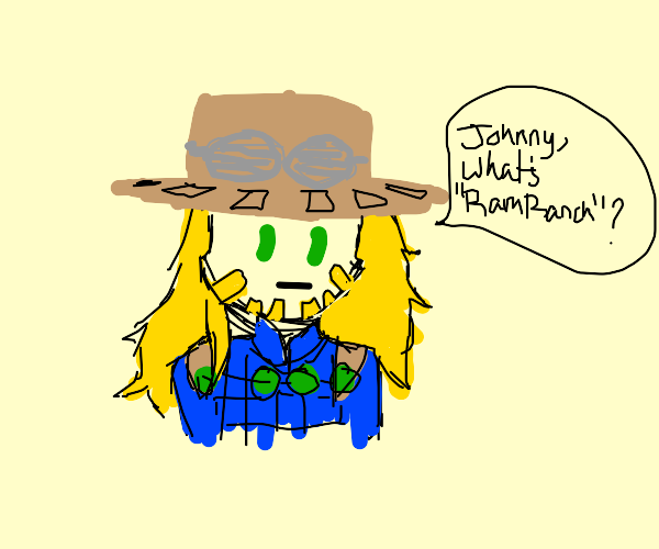 Gyro (JJBA) wants to know what RamRanch is