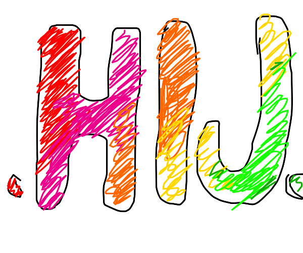 """""""...HIJ..."""" - but colourful"""