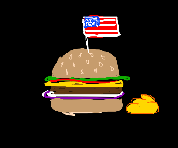 I love me a side of mustard with my america