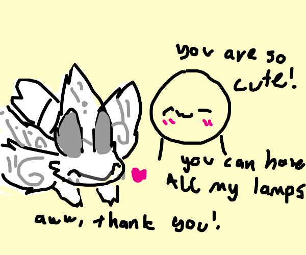Poodle moth being called cute!