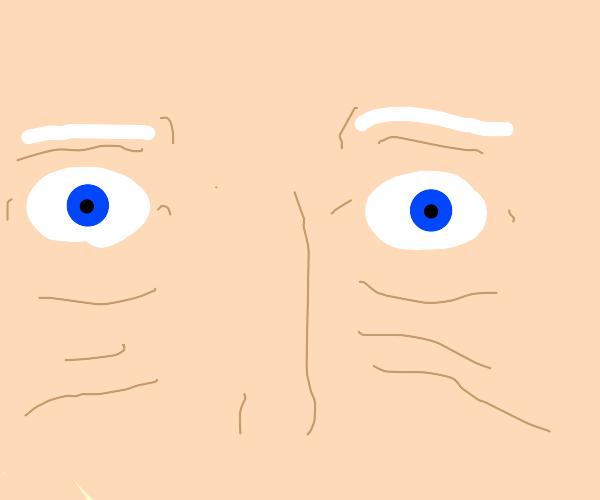 joe biden's eyes