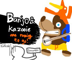 banjo gets in smash