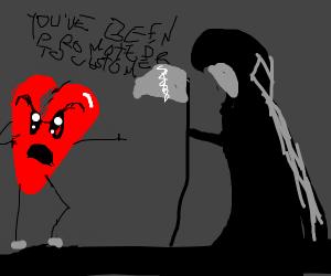 Grim Reaper Being Fried