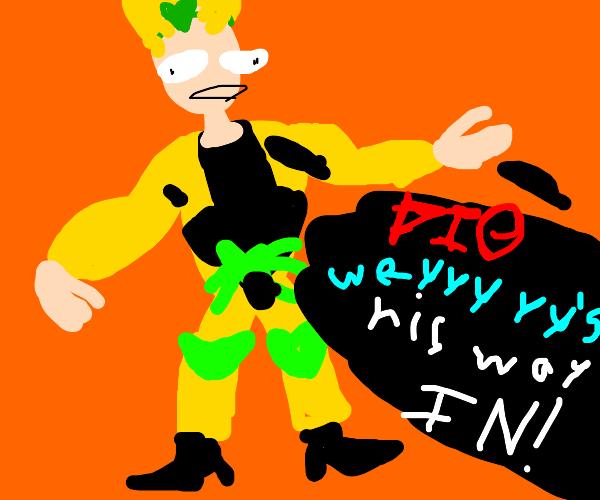 Dio joins Smash Bros