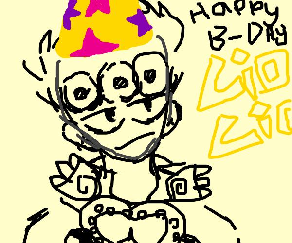happy birthday giorno!