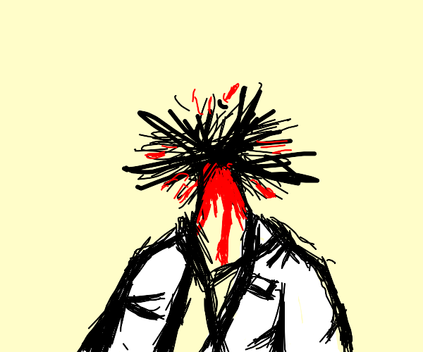 Doctors head explodes