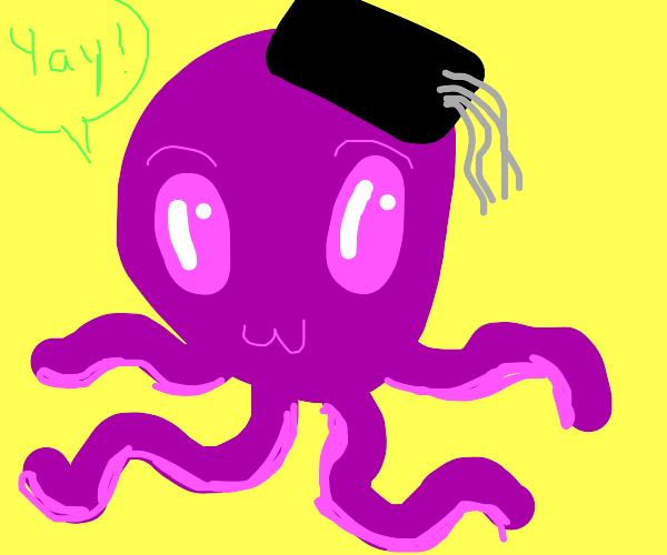 Octopus graduated! Yay!