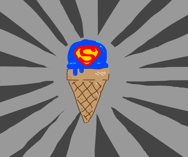 Superhero icecream!
