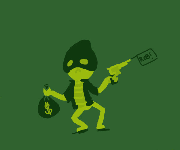 uh oh thats a robbery