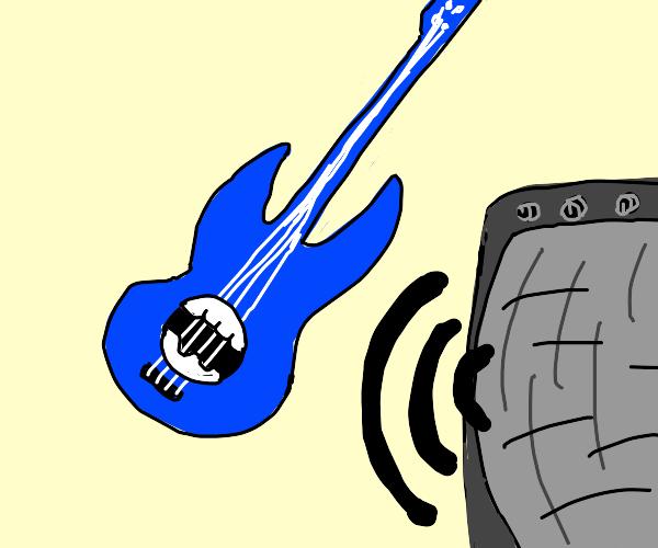 ranchy electric guitar