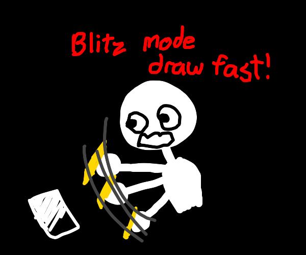 Blitz drawing mode
