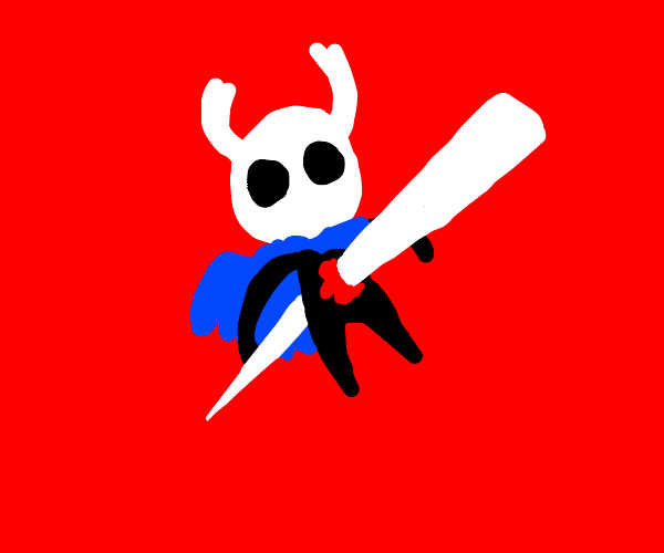 Hollow Knight gets impaled