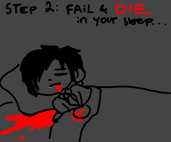 Step 1: Try not to die