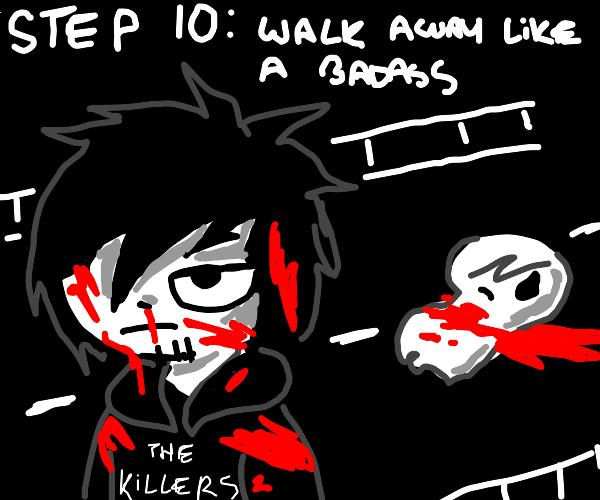 step 9: dropkick the ghost