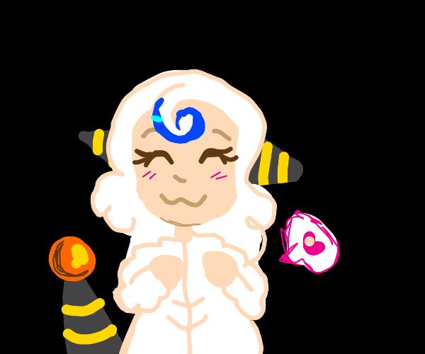 sheep anime girl