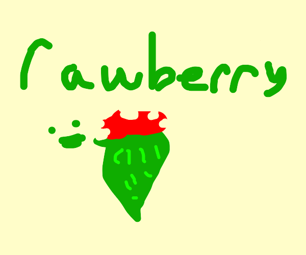 An off brand strawberry