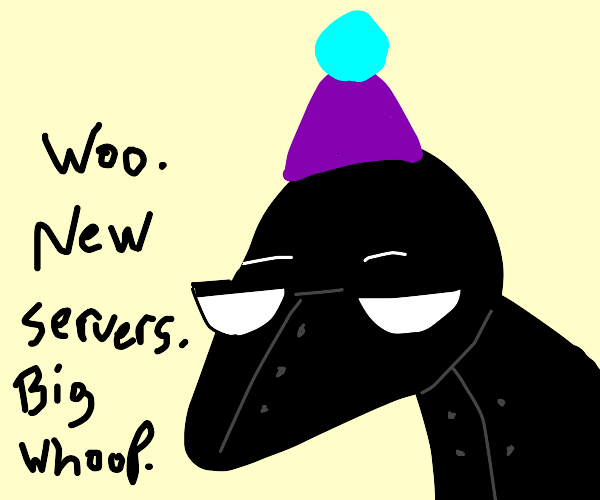 Drawing server update celebration!
