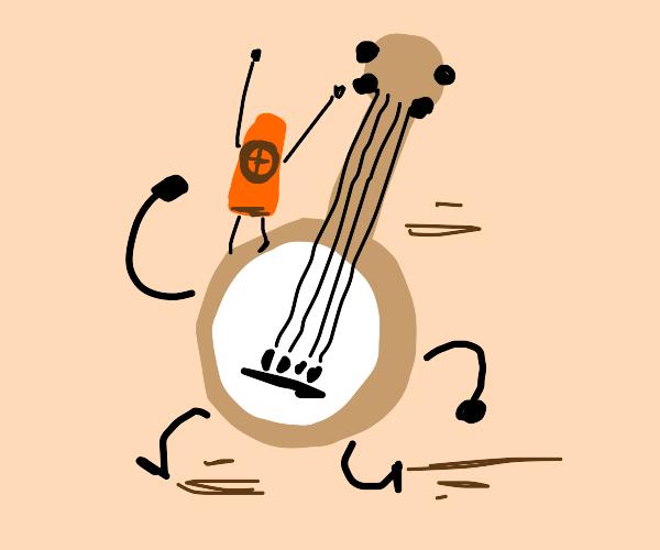Banjo and kazoo