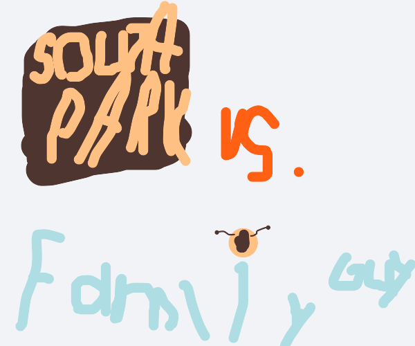 South Park vs Family Guy