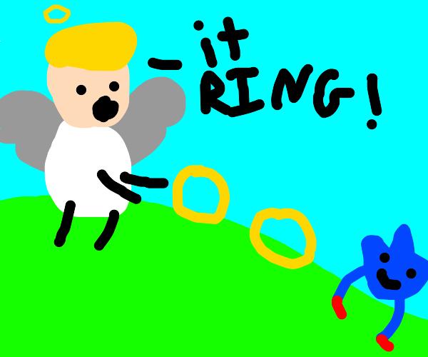 angel has taken an interest in rings