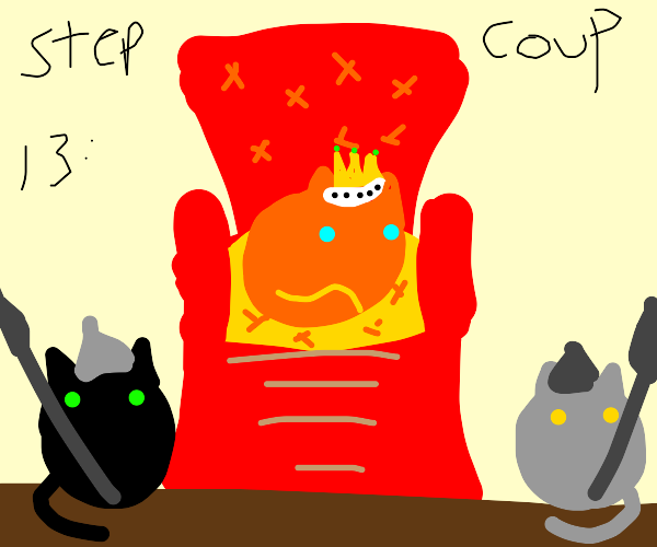 Step 12: Forget money! You are King of Cats!