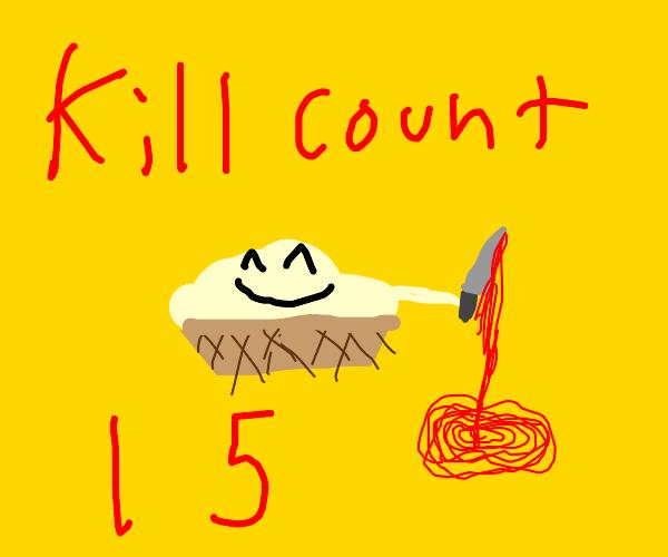 Cute evil ice cream sundae murdered 15 people