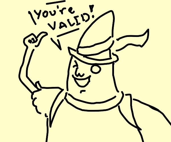Magic man appreciates you