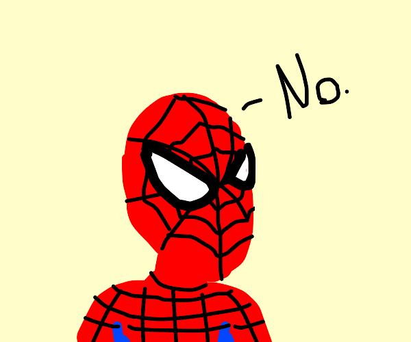 Spider man says N word