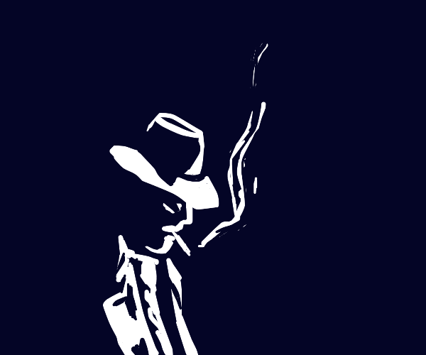 Detective from a noir movie
