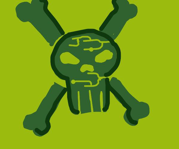 Hacker Cross n' Bones