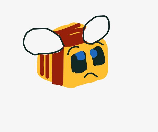 Sad Minecraft bees