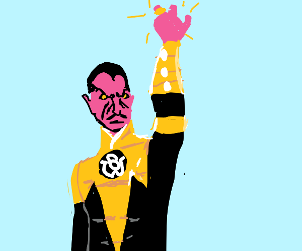 Sinestro with the One Ring