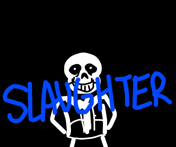 the sans behind the slaughter