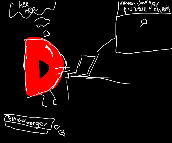 Drawful D cheats at Jigsaw