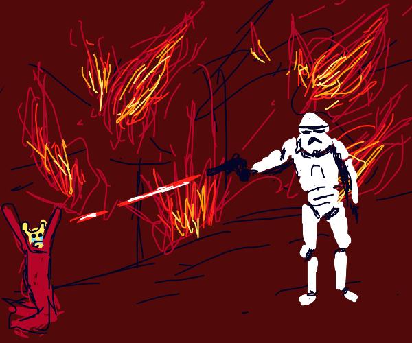 Star Wars peraon