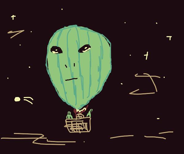 extraterrestrial balloon