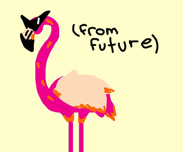 Flamingo from the Year 2500