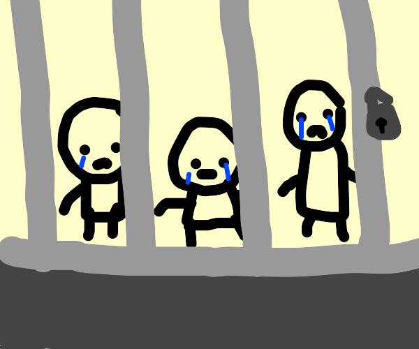 the sad prison