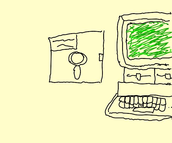 Stored digital information