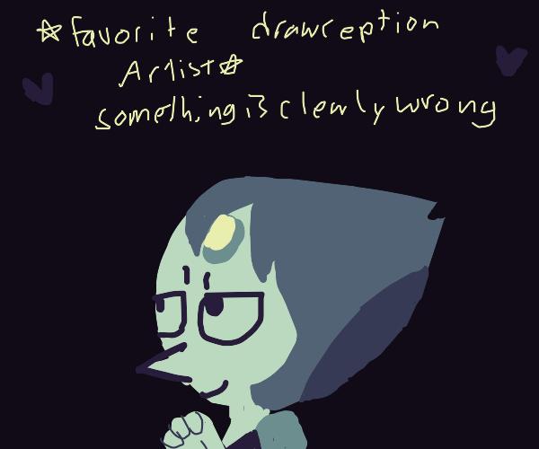 Draw your fav drawception artist