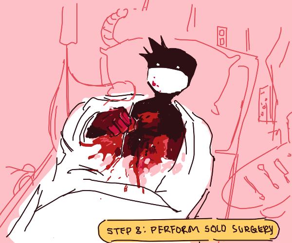 Step 7: organ theft